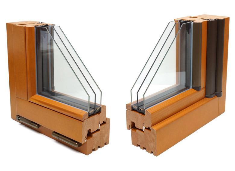 Holzfenster Profil